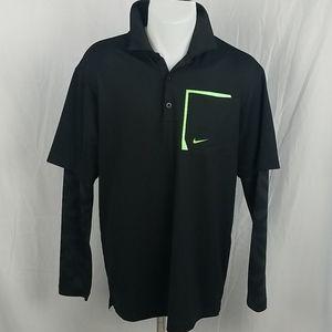 Nike Golf Tour Performance Long Sleeve Polo